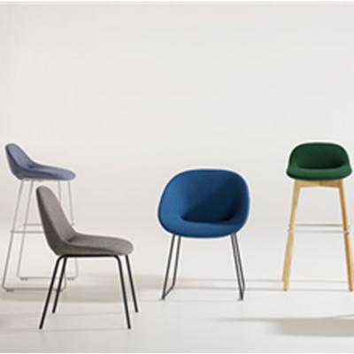 lahti chair北欧经典餐椅 甲虫椅扶手椅 吧凳 设计师休闲椅