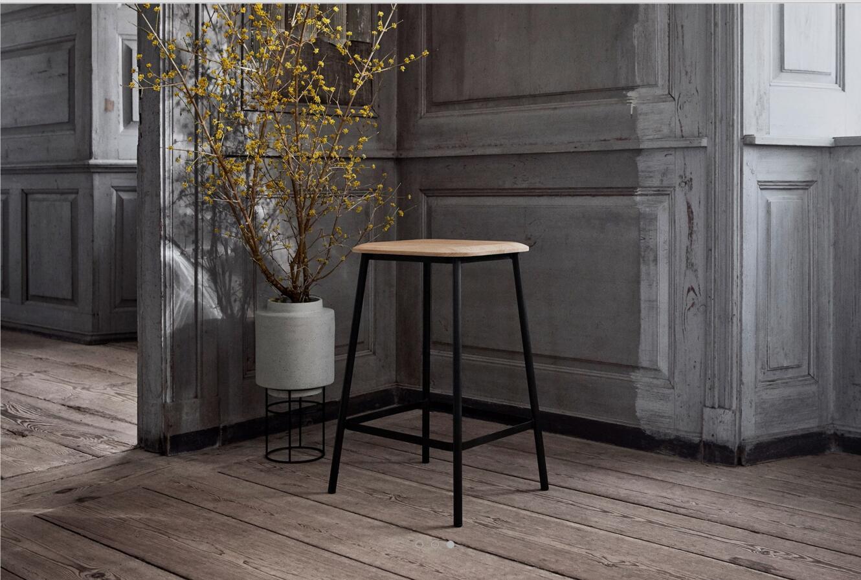 Facet low barstool北欧设计吧椅酒店餐厅样板房酒吧颜色可定制