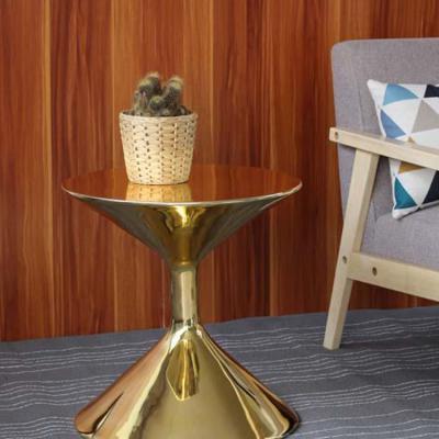 沙漏边几大全 沙发北欧角高沙漏时尚创意边桌家具现代简约小圆茶几家具定制
