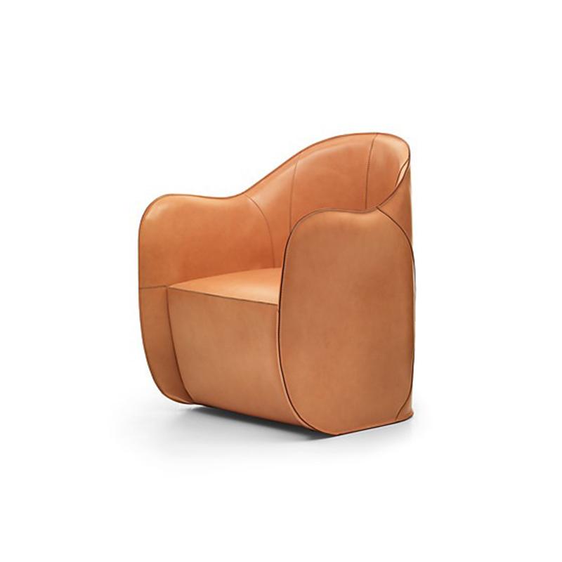 Colzani 阿尔贝托 挂式扶手椅 北欧简约沙发椅 休闲靠背沙发椅