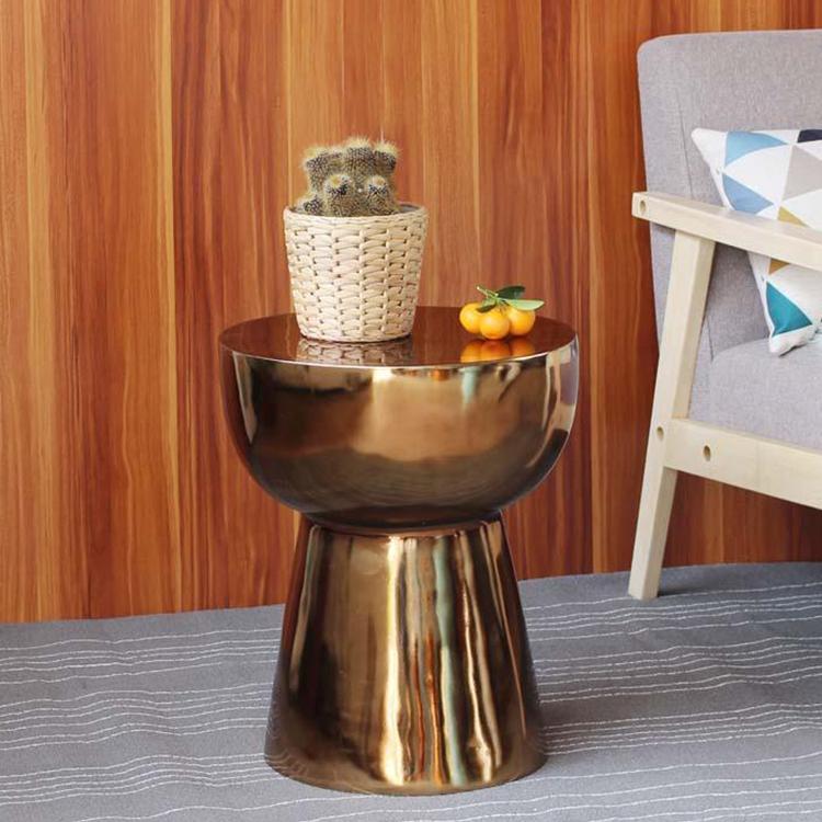 玻璃钢简约现代蘑菇北欧风格客厅边几 书房卧室边茶几角几家具定制