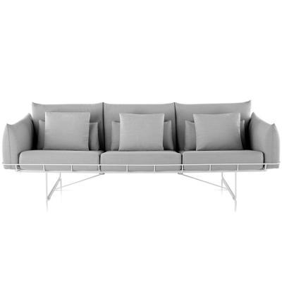 三人北欧现代布艺沙发  休闲大小户型简约家具简约客厅沙发