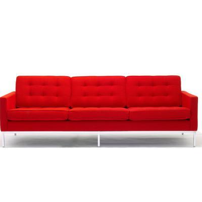 办公高端家具佛罗伦萨·诺尔florence knoll sofa会客沙发客厅别墅沙发书房佛罗伦斯软体定制