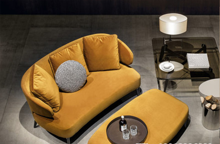 设计师沙发椅扶手沙发经典商务沙发客厅沙发接待沙发 护肤养生美发