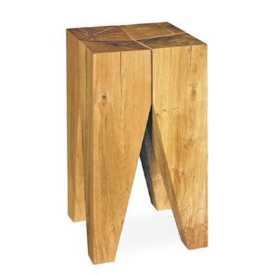 沙发边几E15 ST04 Backenzahn Stool  小茶几 纯实木凳子 木墩