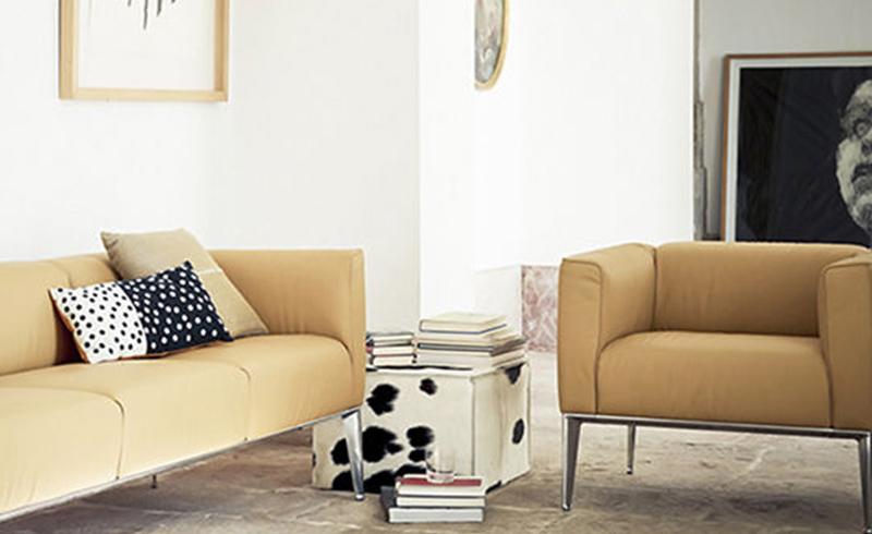 北欧现代实木沙发布艺双人沙发咖啡厅复古单人aLOFT风格工业风家
