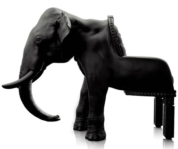 Riera elephant chair大象椅 动物椅 艺术玻璃钢椅 摆件 MAXIMO