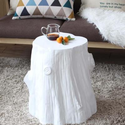 树根北欧沙发边几角几 原木型时尚创意边桌 家具现代简约小圆茶几