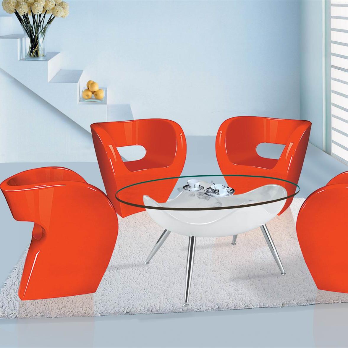 现代简约玻璃钢户外休闲椅 酒店会所洽谈椅 家用商场休息靠椅