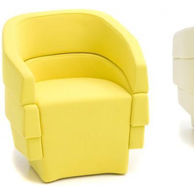 经典家具椅子 裂谷扶手椅 商业/办公家具 办公椅休闲椅