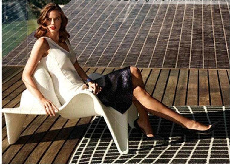 时尚个性休闲椅 玻璃钢异性躺椅 时尚户外客厅家具椅 现代椅