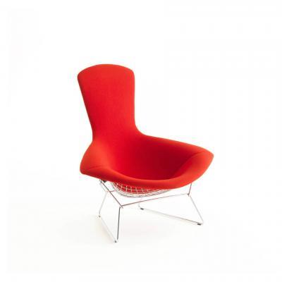 北欧设计师不锈钢家具伯托埃高背钻石钢网椅 铁网五金休闲椅