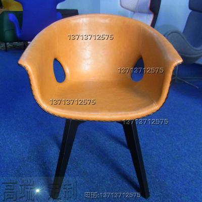 实物实拍现货鼻子椅鼻孔姜椅扶手椅创意休闲椅样板房椅售楼处椅会议椅穿孔椅