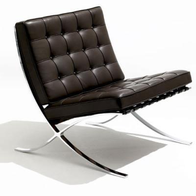 巴塞罗那椅Barcelona Chair单人双人椅逍遥椅户外椅接待会议客厅
