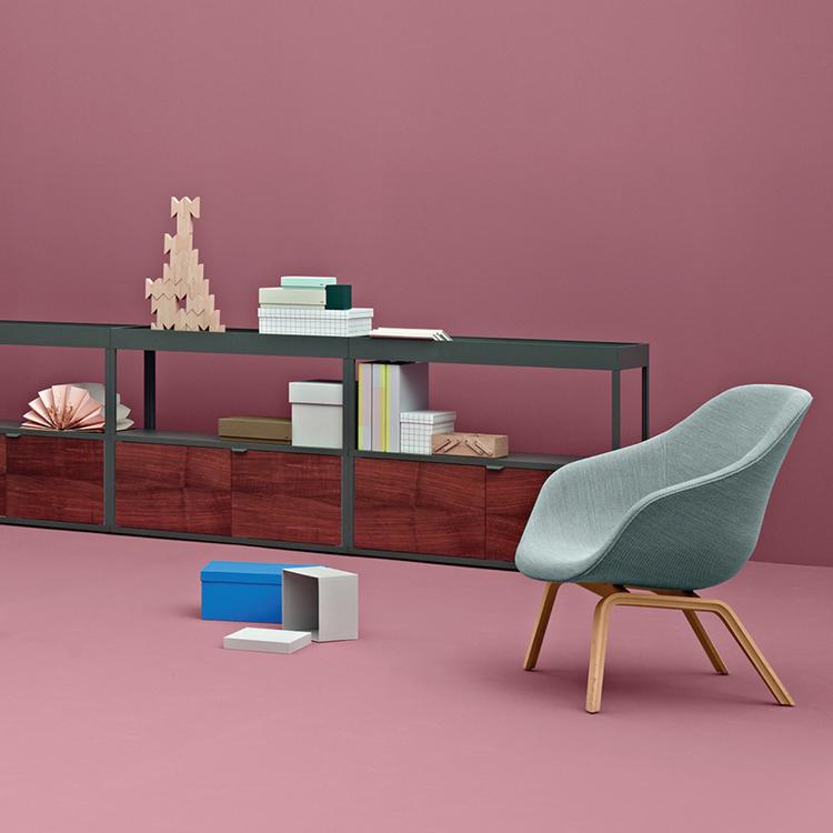 丹麦HAY现货休闲椅AAL83北欧布面低背躺椅About A Lounge 83