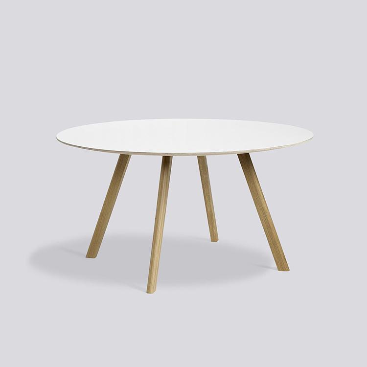 丹麦HAY大圆桌CPH 25直径1.4米橡木大圆桌8-10人餐桌正品预定
