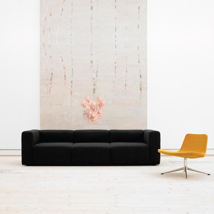 丹麦HAY布面沙发Mags Sofa Seaters布艺沙发组合沙发北欧现代