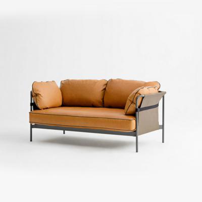 丹麦HAY意大利真皮沙发MAGS WIDE羽绒牛皮沙发布沙发北欧