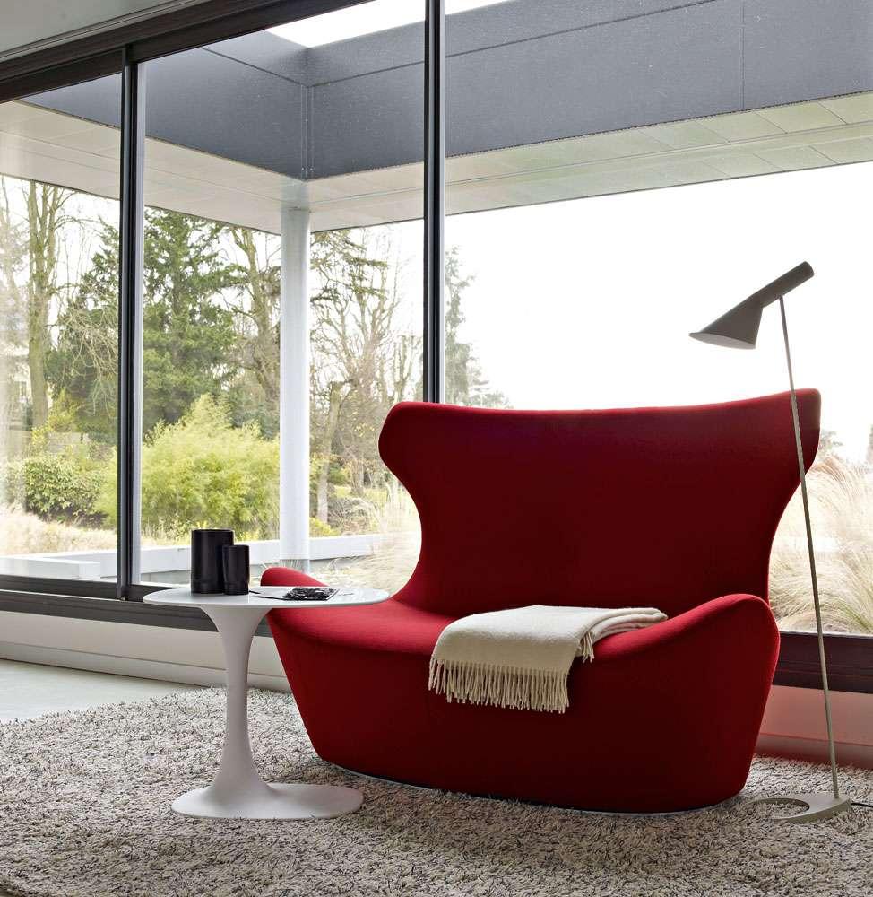 双人凤蝶扶手椅NAOTO FUKASAWA设计师Papilio papilio chair休闲沙发armchair