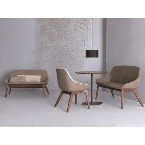 实木雙人扶手椅Morph Duo  德國 ZEITRAUM  北欧家具室内外定制参考网站