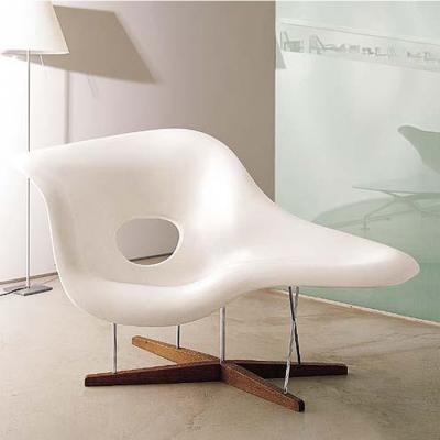贝壳贵妃椅Eames La Chaise伊姆斯夫妇美人贵妃椅陈列展示模特椅