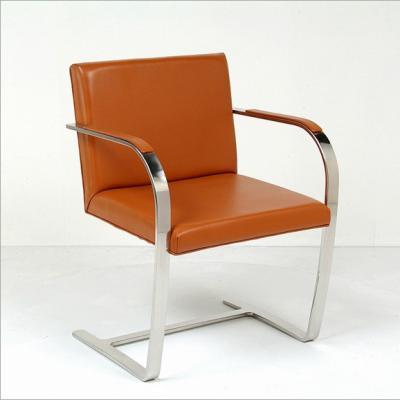 会议不锈钢布尔诺椅子Brno Chair密斯.凡.德罗Mies vander Rohe