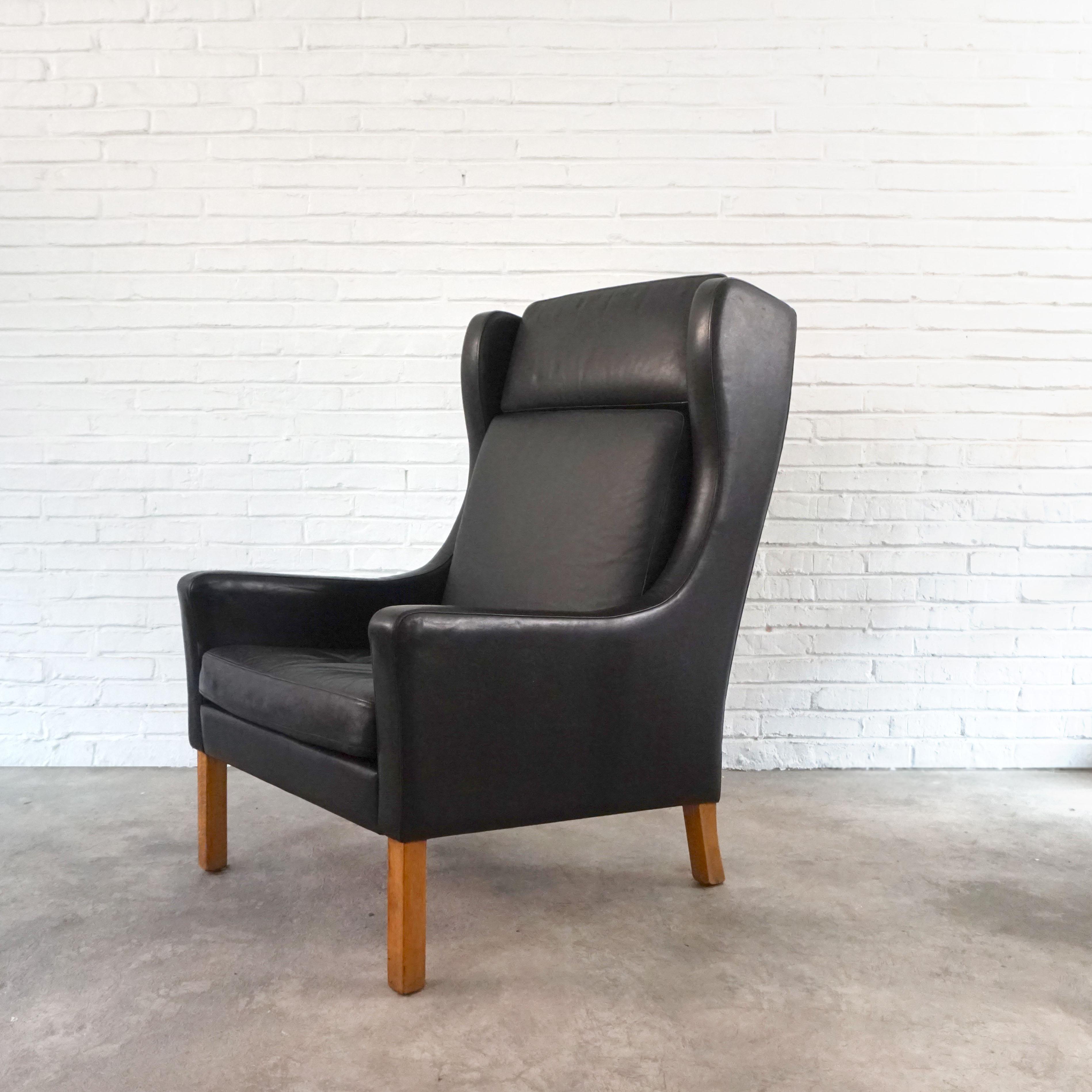 中式 Borge Mogensen休闲椅2331 Easy chair 单人沙发Ottoman莫根森