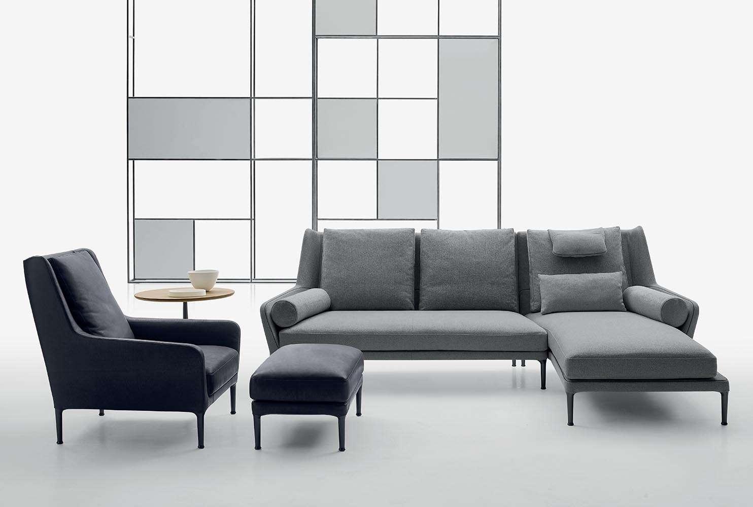 中式 新款升级两人位莫根森Borge三人Mogensen沙发two seater贵妃sofa