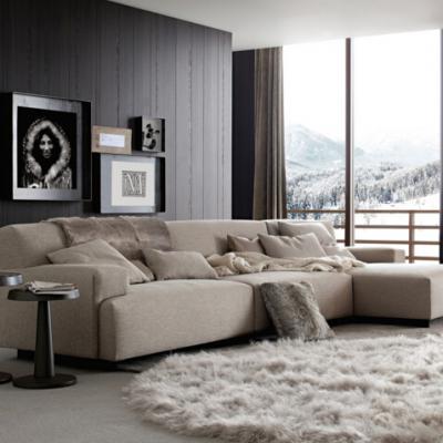 Poliform 沙发 Soho 系列  地产样品房 家用商用家具设计
