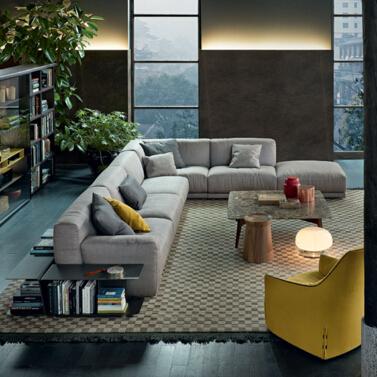 Poliform 沙发 Paris-Seoul 系列 地产样品房 家用商用家具设计