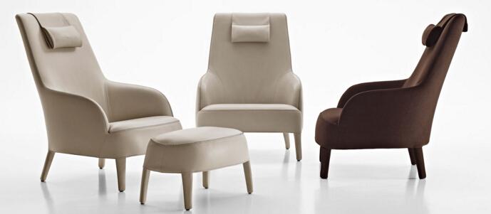 Maxalto 扶手椅 FEBO 系列 面料规格颜色可定制 高端家具