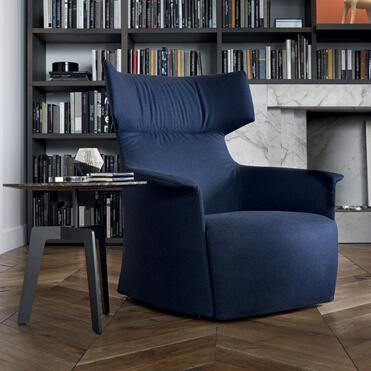 Poliform 扶手椅 Santa Monica Home 系列 面料规格颜色可定制 高端家具