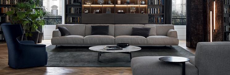 Poliform 沙发 Tribeca 系列 面料规格颜色可定制 高端家具