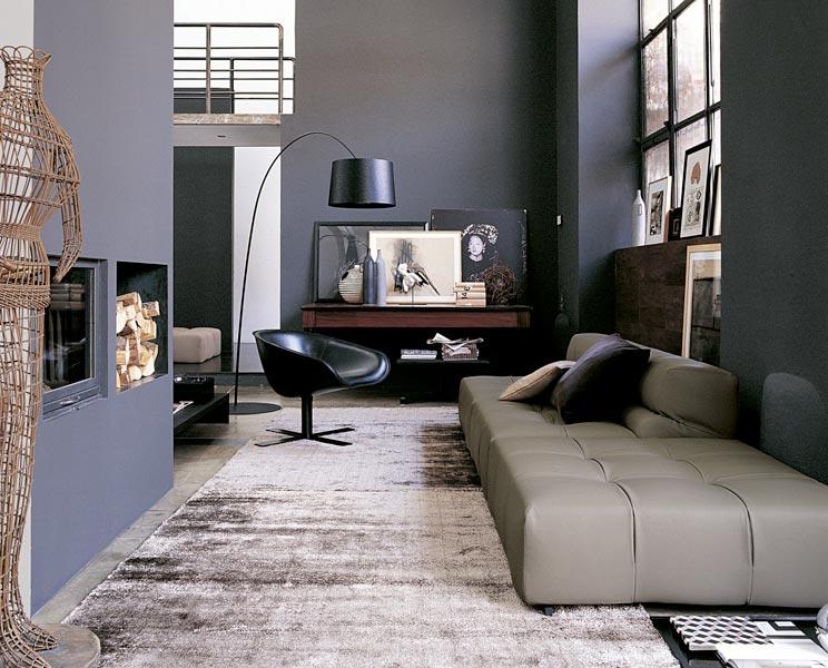 B&B Italia TUFTY-TIME 沙发 B&B(beb italia) 地产样品房 家用商用家具设计