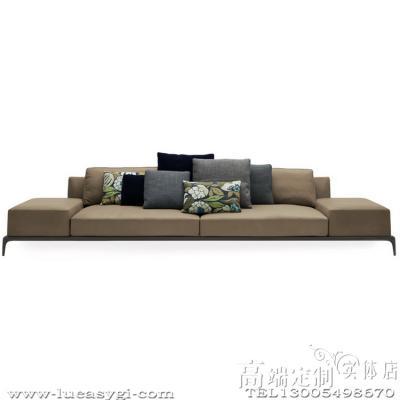奢侈品家居 现代简约 Poliform PARK 多人沙发Sofa 全球高端家具定制