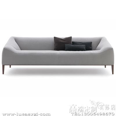 奢侈品家居 现代简约 Poliform Carmel 沙发 Sofa 地产样品房 家用商用家具设计