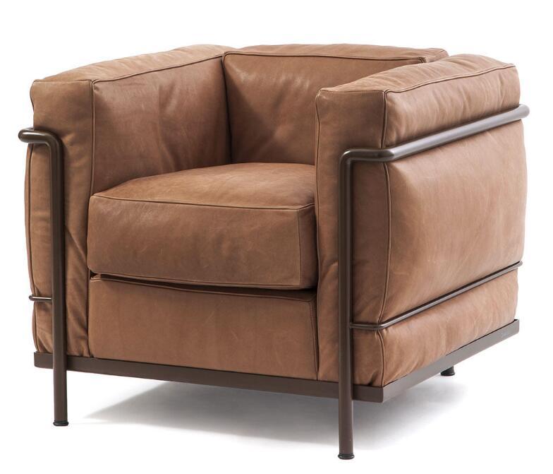 Cassina 扶手椅 LC2 MAISON LA ROCHE  全球高端家具定制 个性设计