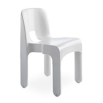 kartell意大利Joe Colombo Chair 哥伦布休闲椅玻璃钢约·科伦博