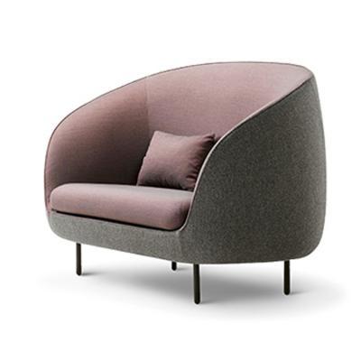 北欧欧美家具高端个性定制GamFratesi北欧布艺Haiku sofa 单人位沙发椅