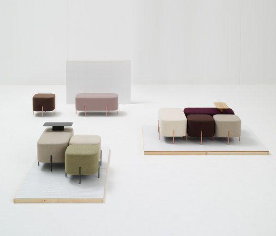 北欧Nadadora沙发凳大象椅长凳 elephant stool服装店长条沙发休息凳子 换鞋凳布艺矮凳