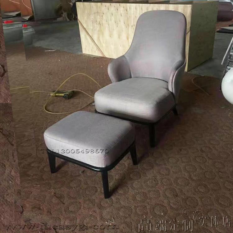 莱斯利休闲椅LESLIE armchair tapizado Minotti米洛提Leslie armchair set高背版