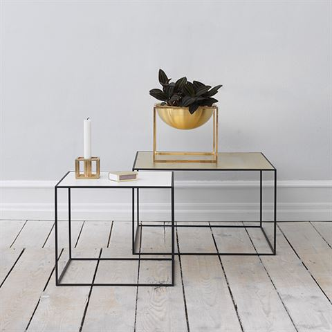 定制茶几 金属不锈钢铁客厅卧室茶几角几床头几