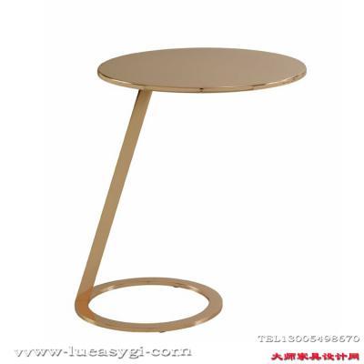 不锈钢家具茶几边几角几定制 地产样品房 家用商用家具设计