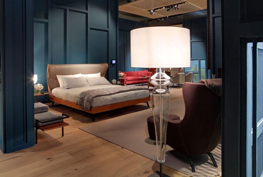 床铺 PU真皮床架 个性设计家具设计网 北欧欧美家具高端个性定制