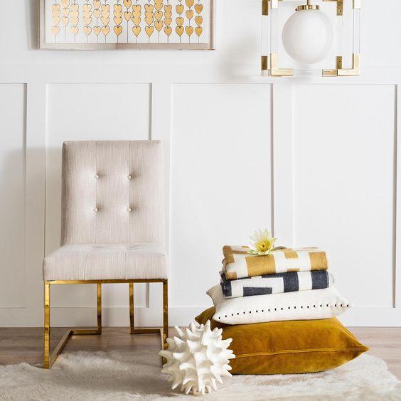 宜家定制  不锈钢沙发椅现代简约布艺软包休闲椅样板房客厅单椅 高端家具