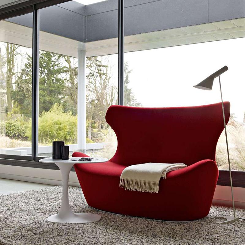 B&B Italia 意大利沙发  玻璃钢内架家具面料规格颜色可定制 高端家具