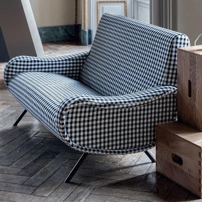Cassina 意大利夫人双人沙发椅 面料规格颜色可定制 高端家具