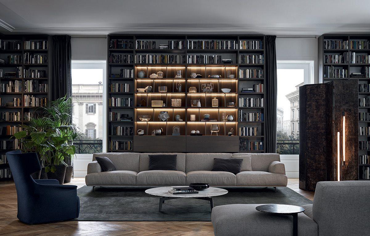 个性设计最美家具设计网 五金家具【Poliform】Tribeca 沙发 家具