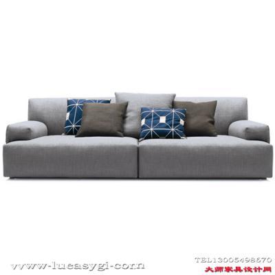 双人位多人位定制 Poliform 沙发 Soho 系列全球高端家具定制