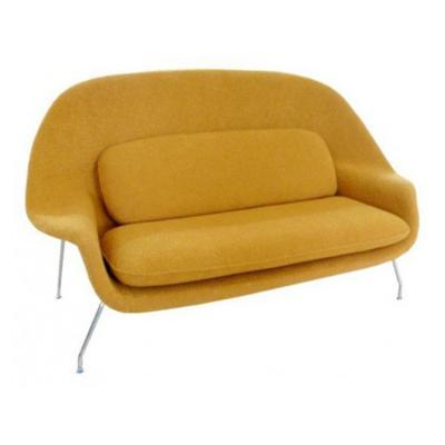 Womb子宫沙发Sofa客厅子宫长椅Eero Saarinen埃罗沙里宁双人位